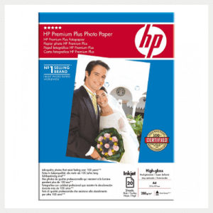 HP Premium Photo Paper High Gloss foto popierius