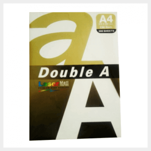 Double A laser matinis popierius