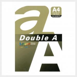 Double A lazer blizgus popierius