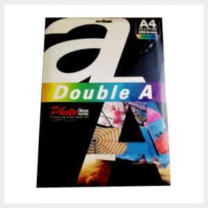 Double A foto popierius