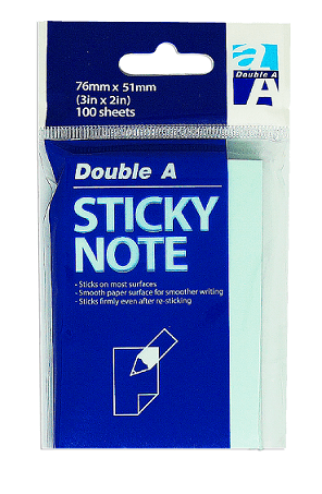 Sticky note 76×51 green