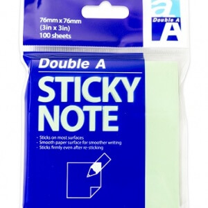 Sticky note green 76x76
