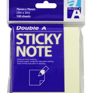 Sticky note yellow 76x76